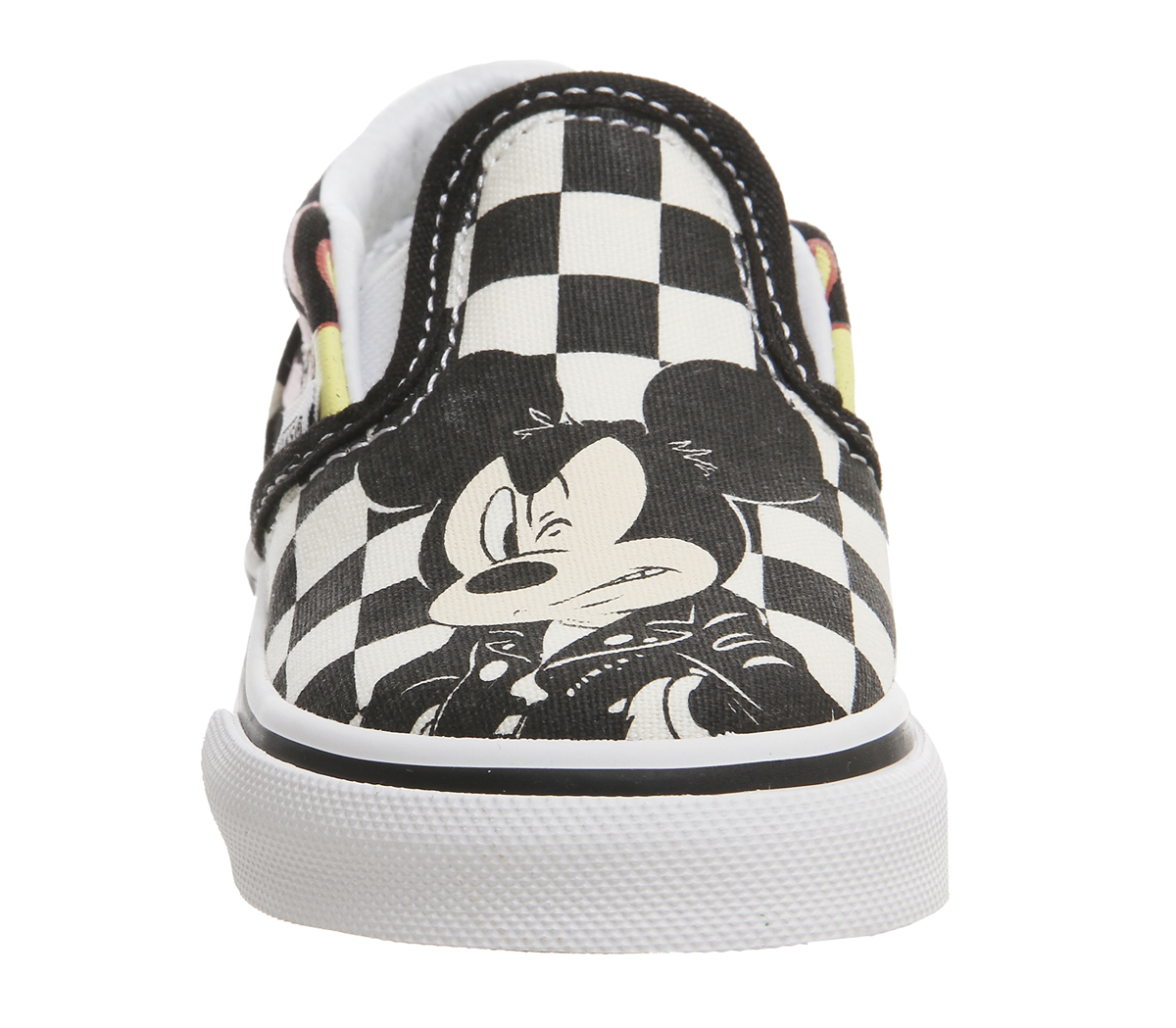 c40033989 Sentinel Kids Vans Classic Slip On Toddlers Mickey And Minnie Checker Flame  Disney Kids