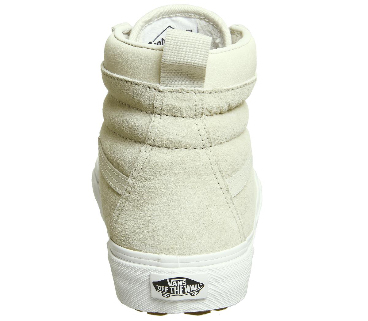 7d8f9f6ef8 Sentinel Womens Vans Sk8 Hi Mte Cement Birch Trainers Shoes