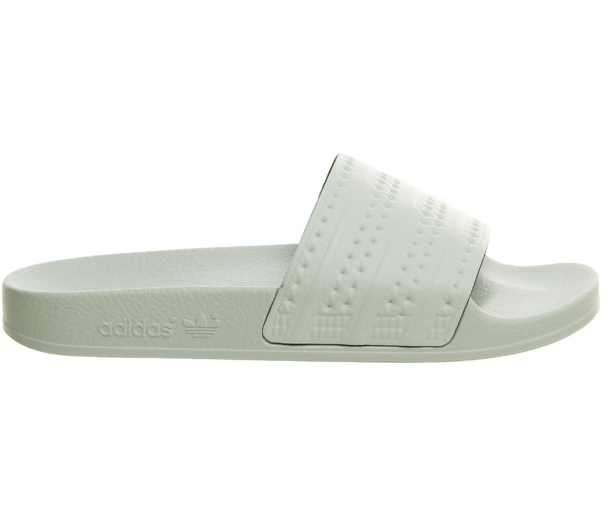 Womens-Adidas-Adilette-Sliders-LINEN-GREEN-Trainers-Shoes