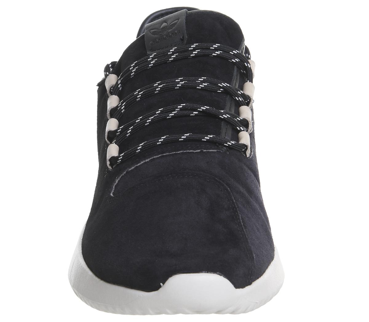 Adidas-Nero-Ombra-Tubular-Off-Scarpe-Da-Ginnastica-Bianco