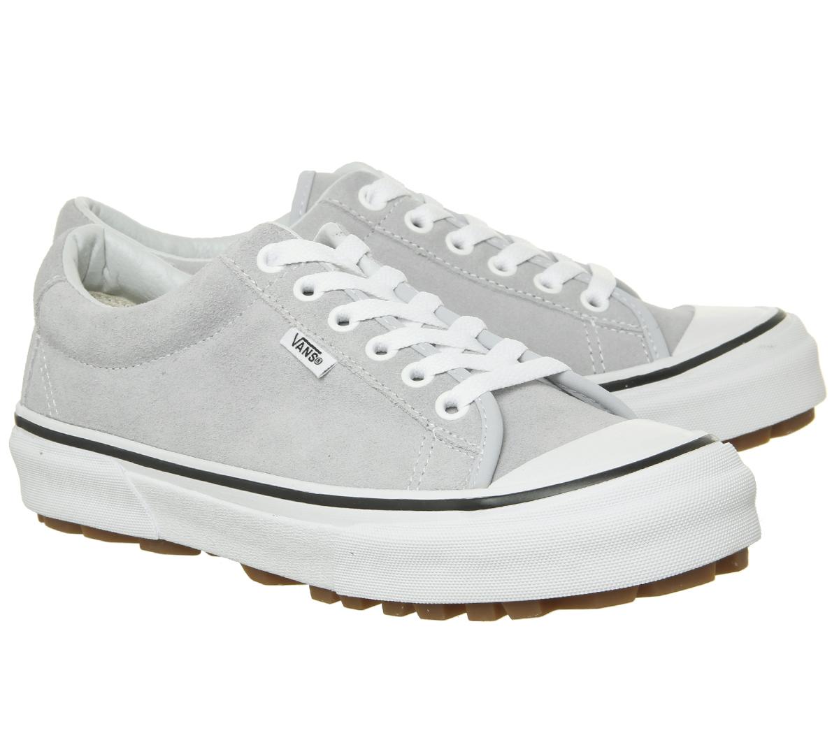 a45d780dc9 Mujer Vans Estilo 29 Zapatillas Gris Dawn True Zapatillas Blancas