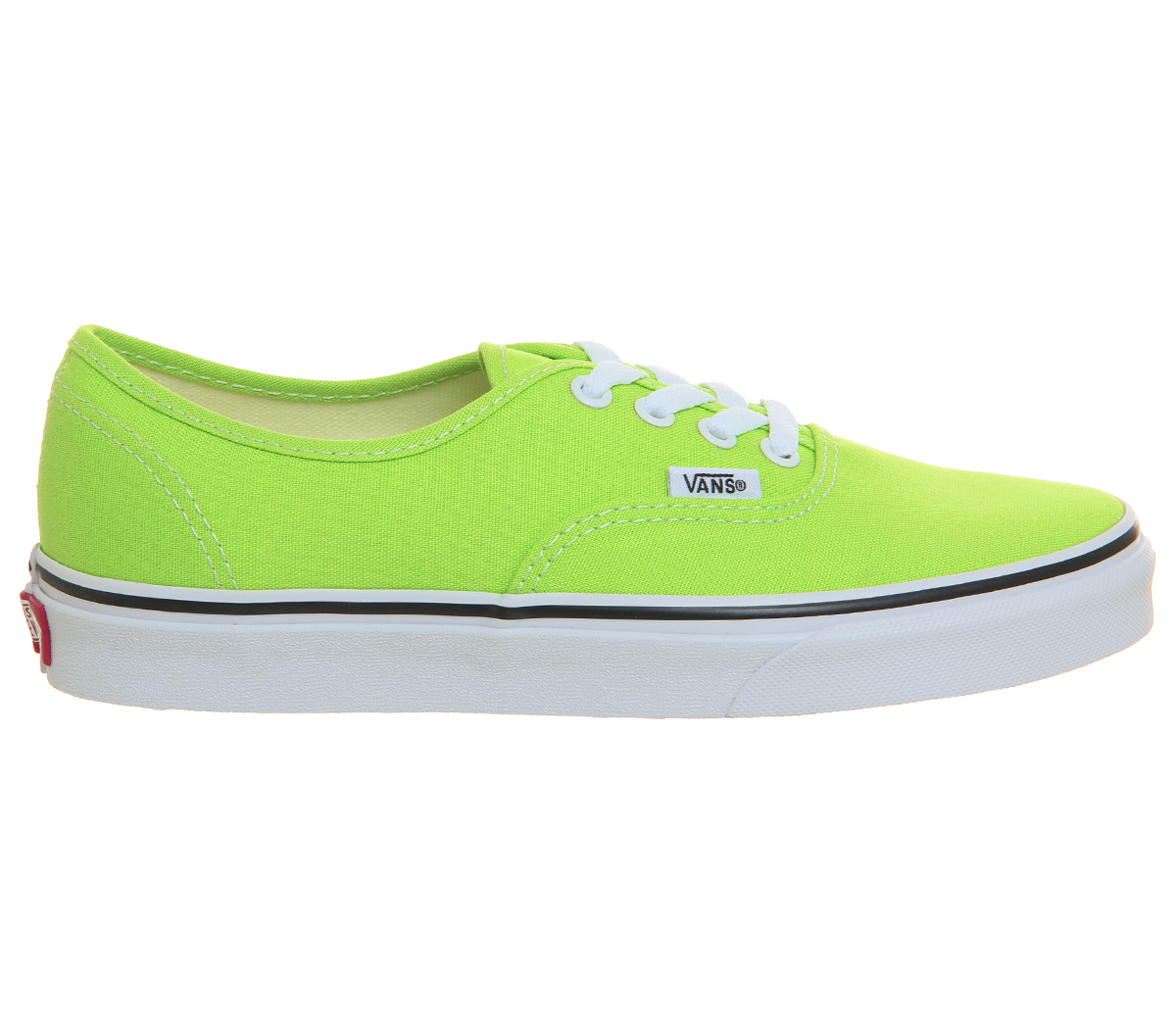 19b42a7af8cc Womens Vans Authentic Trainers Jasmine Green Trainers Shoes