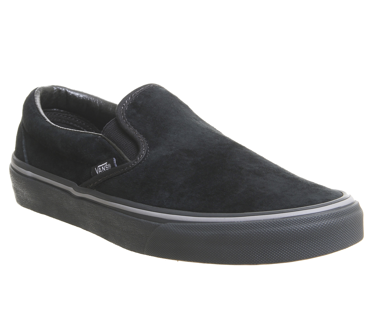 ec39fb6076 Sentinel Mens Vans Vans Classic Slip On Trainers Pirate Black Frost Grey  Exclusive Traine