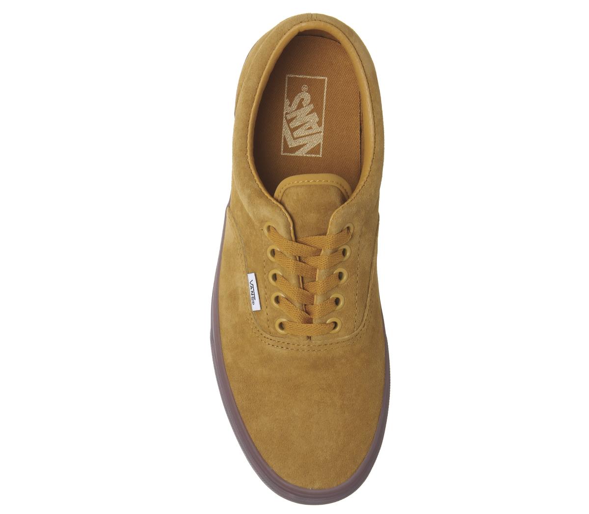 4098a1c4cd7 CENTINELA Hombres Vans Era entrenadores Checker girasol hielo único  entrenadores exclusivos zapatos