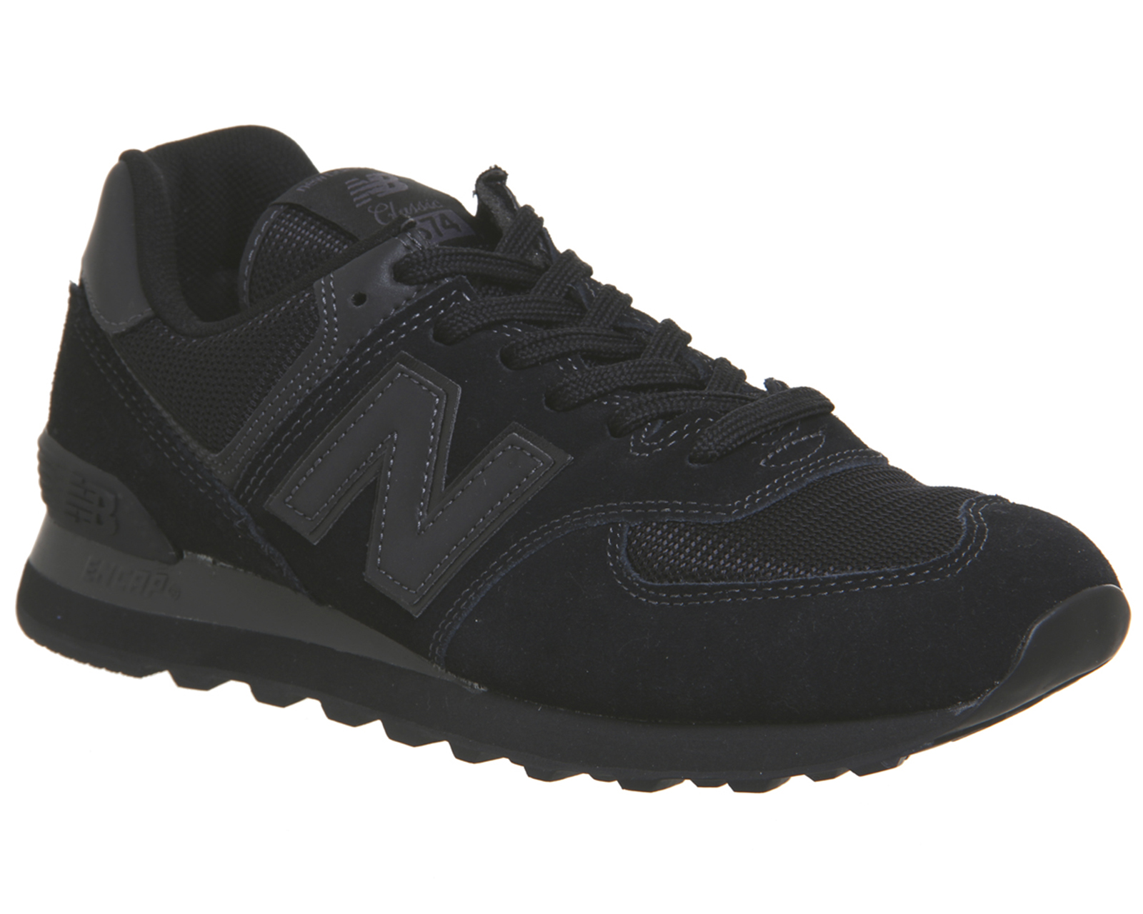 grand choix de a78a6 4a990 reduced new balance 574 trainers black ab1bf 044be