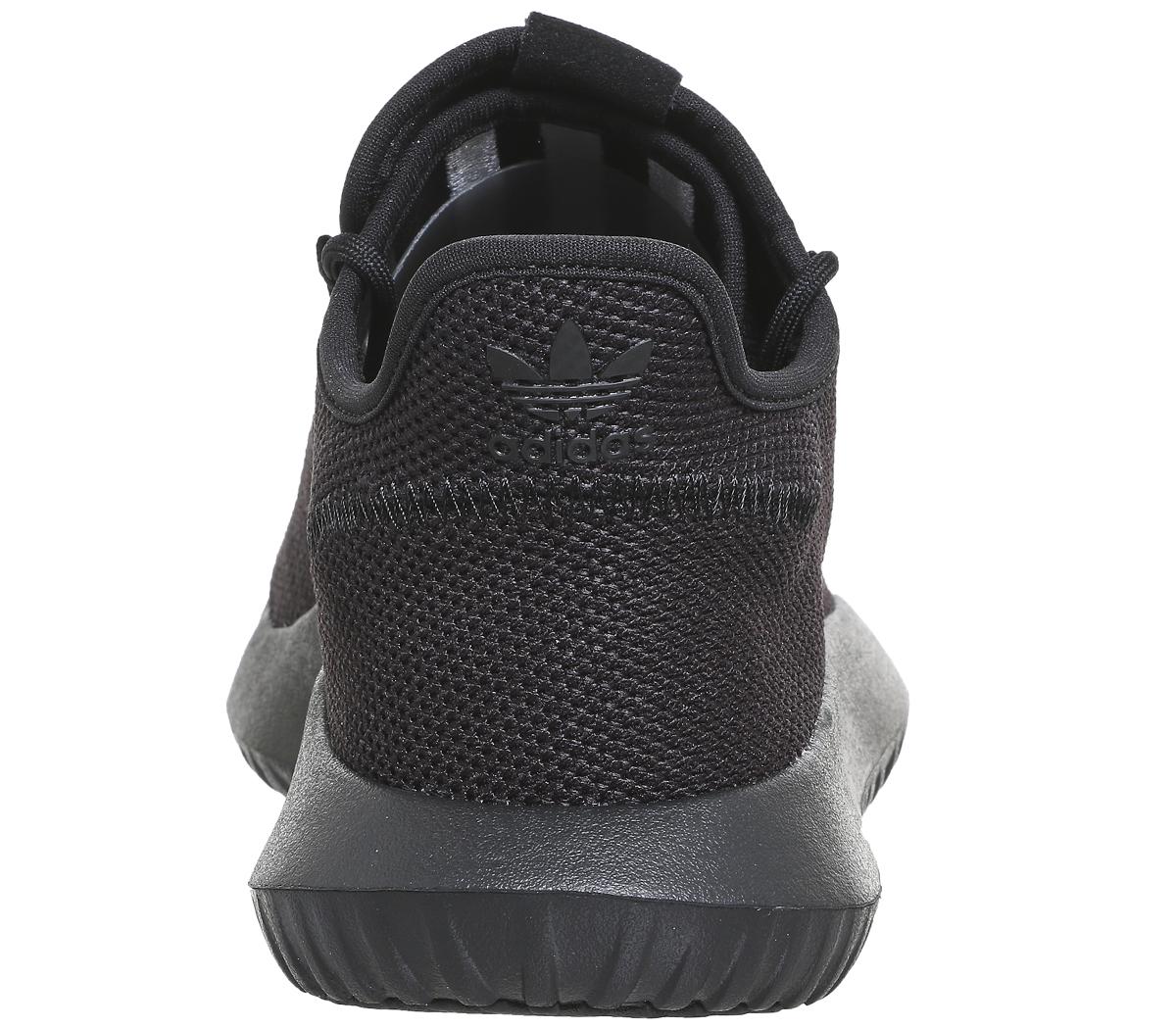 Sentinel Adidas Tubular Shadow BLACK MONO Trainers Shoes. Sentinel Thumbnail  4 f39c9ce6f