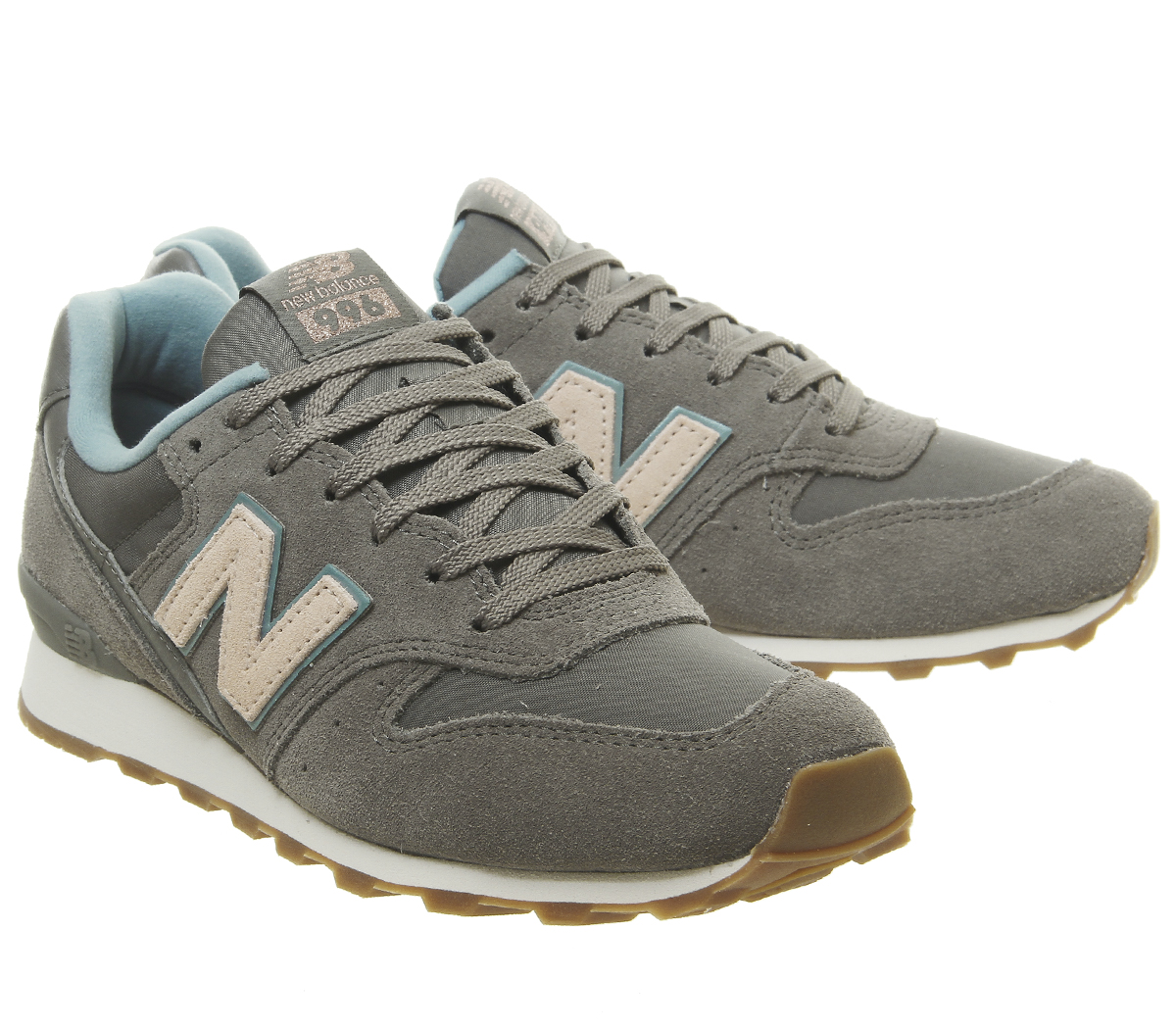 online store b39fc 84c76 Details about Womens New Balance 996 Trainers Charcoal Grey Blush Citadel  Exclusive Trainers S