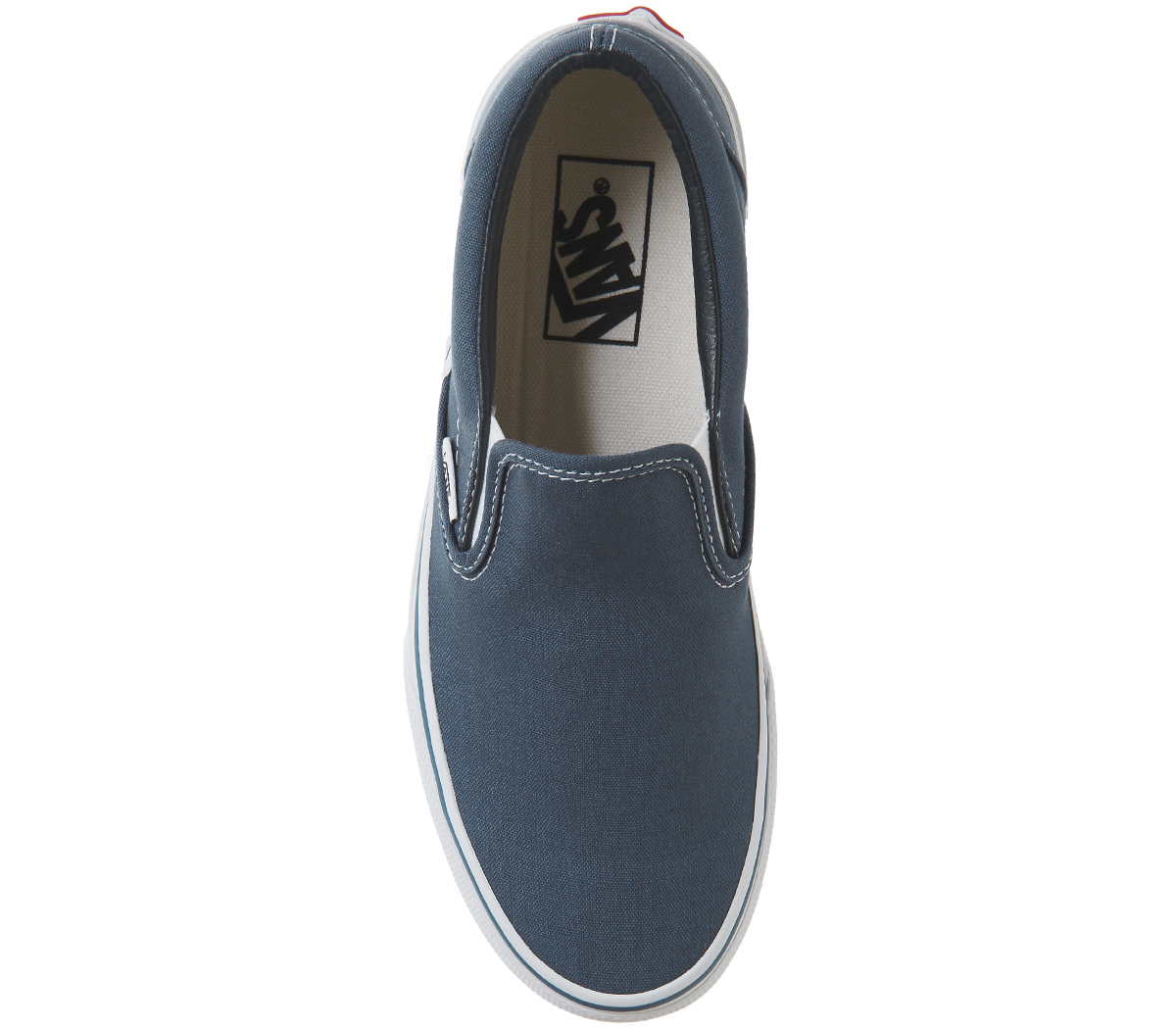 Mens-Vans-Vans-Classic-Slip-Ons-NAVY-NAVY-Trainers-Shoes