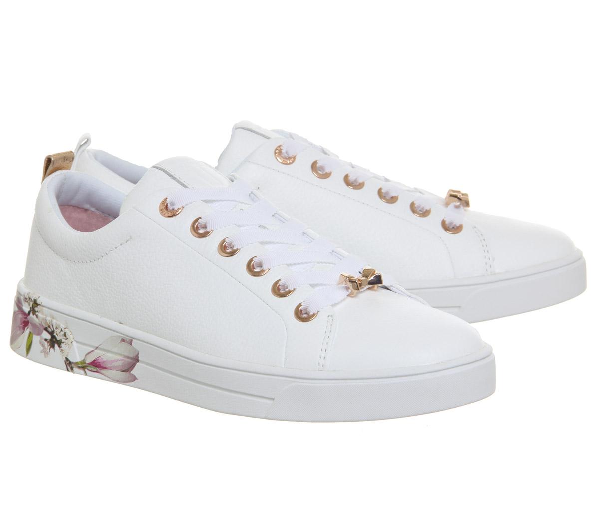 Womens Ted Baker Kelleip Sneakers WHITE