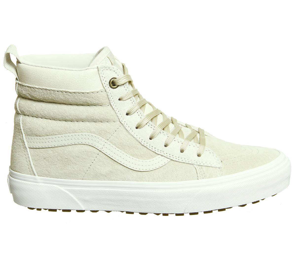 08999ab264197c Sentinel Womens Vans Sk8 Hi Mte Cement Birch Trainers Shoes
