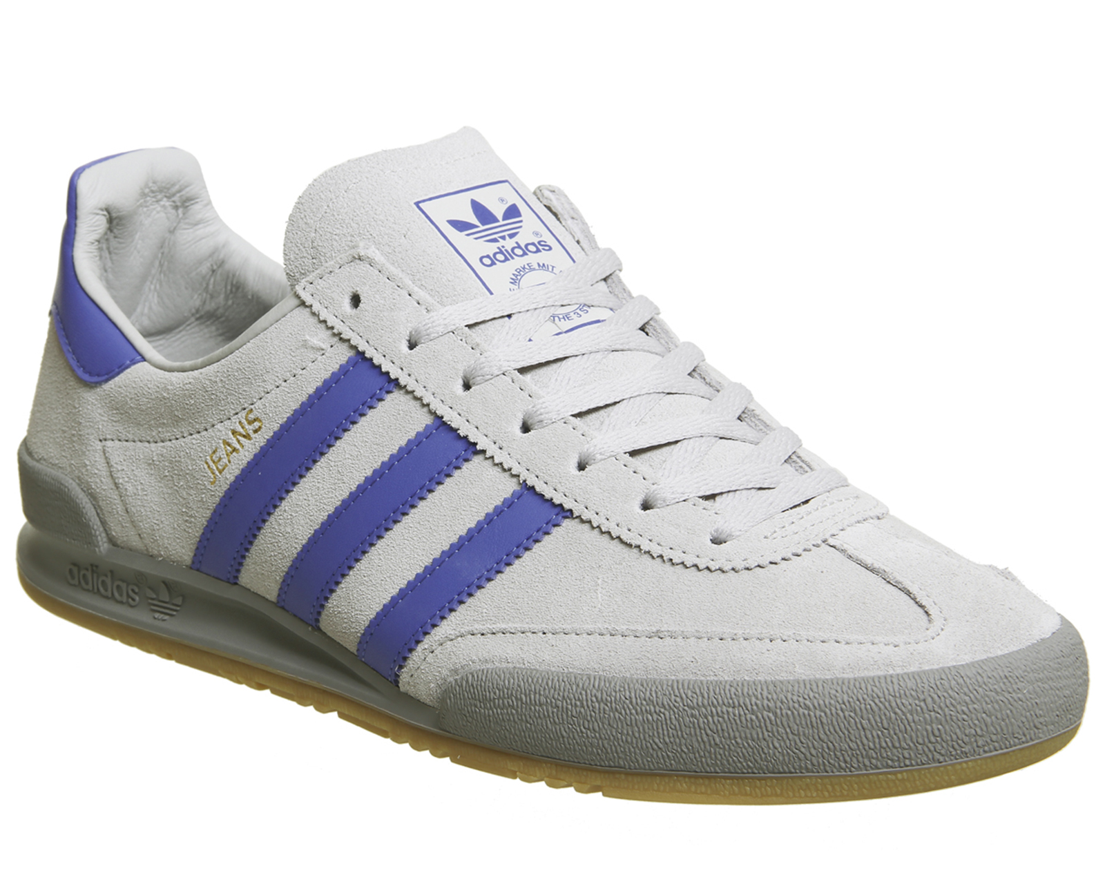 e00bebbd764067 Sentinel Adidas Jeans Trainers GREY TWO HI RES BLUE Trainers Shoes