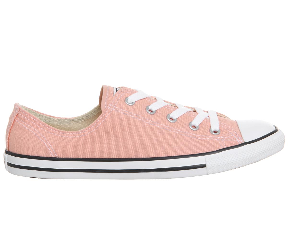54e7a222f07 SENTINEL Womens Converse All Star Dainty formatori formatori corallo  pallido scarpe
