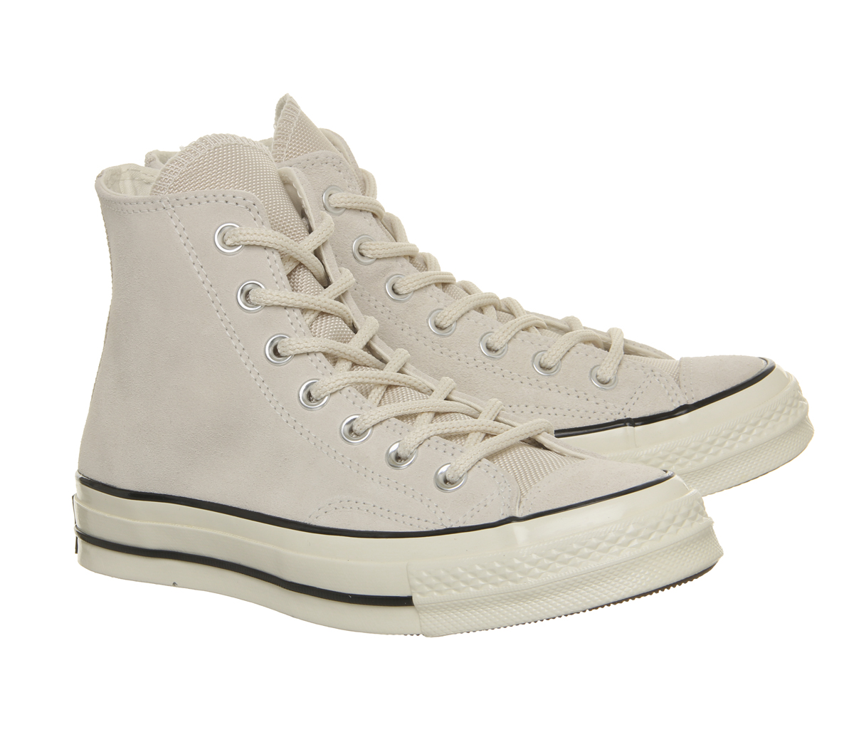 4186b81ab75 Mens Converse All Star Hi 70 S Trainers Natural Ivory Black Egret ...