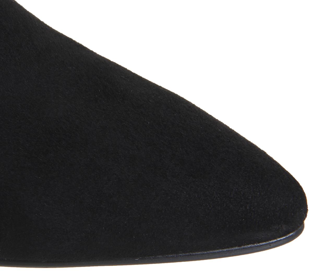 de tacón para gamuza Botas negra medio de Vagabond Minna mujer F4x5nHwq