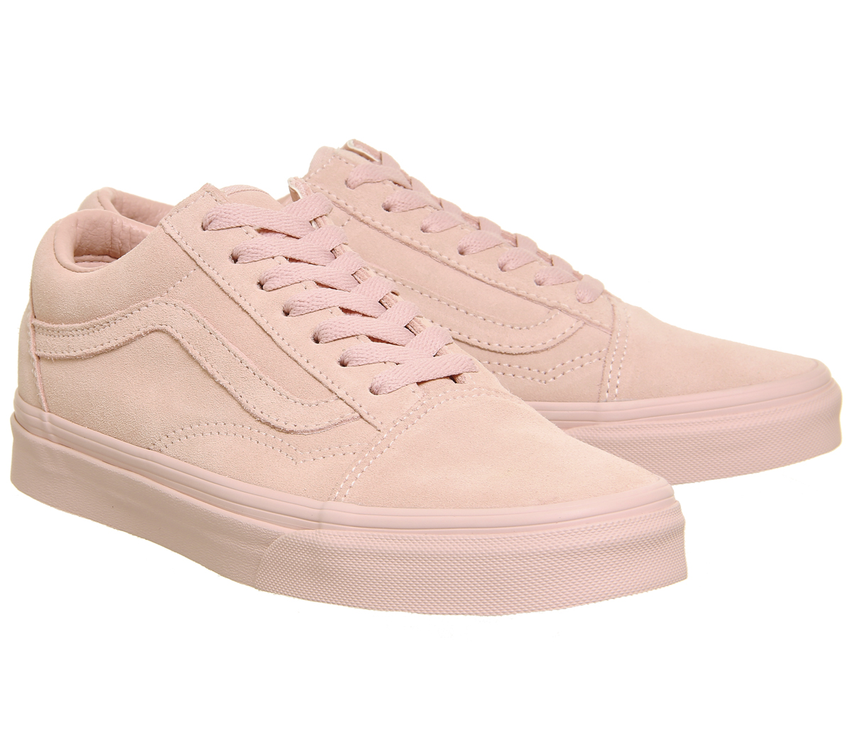 2018 2017 Vans Mens Old Skool Trainers Peachskin Suede Exclusive Shoes Size 9 5 US 8 8 5 8