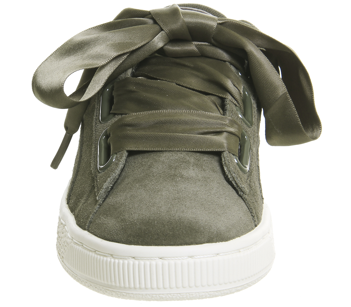 best loved 10273 691fd Details about Womens Puma Suede Heart OLIVE NIGHT GOLD VELVET ROPE Trainers  Shoes
