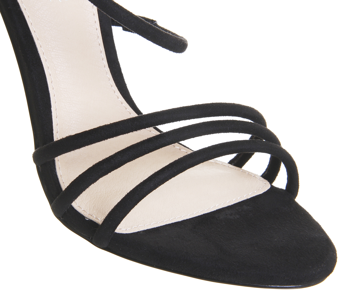 bdc52ecbbda Womens-Office-Harness-Strappy-Sandals-Black-Heels thumbnail 7