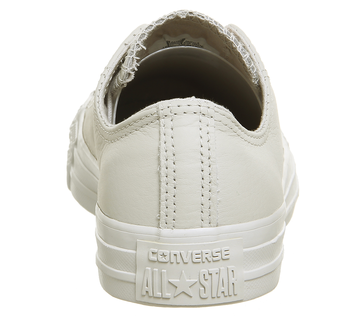 converse pale putty leather