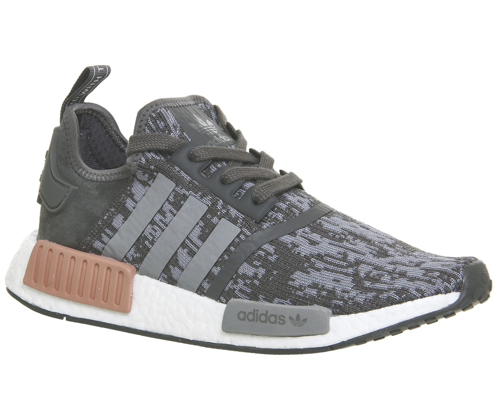 Details about Adidas Nmd R1 GREY FIVE RAW PINK Trainers Shoes