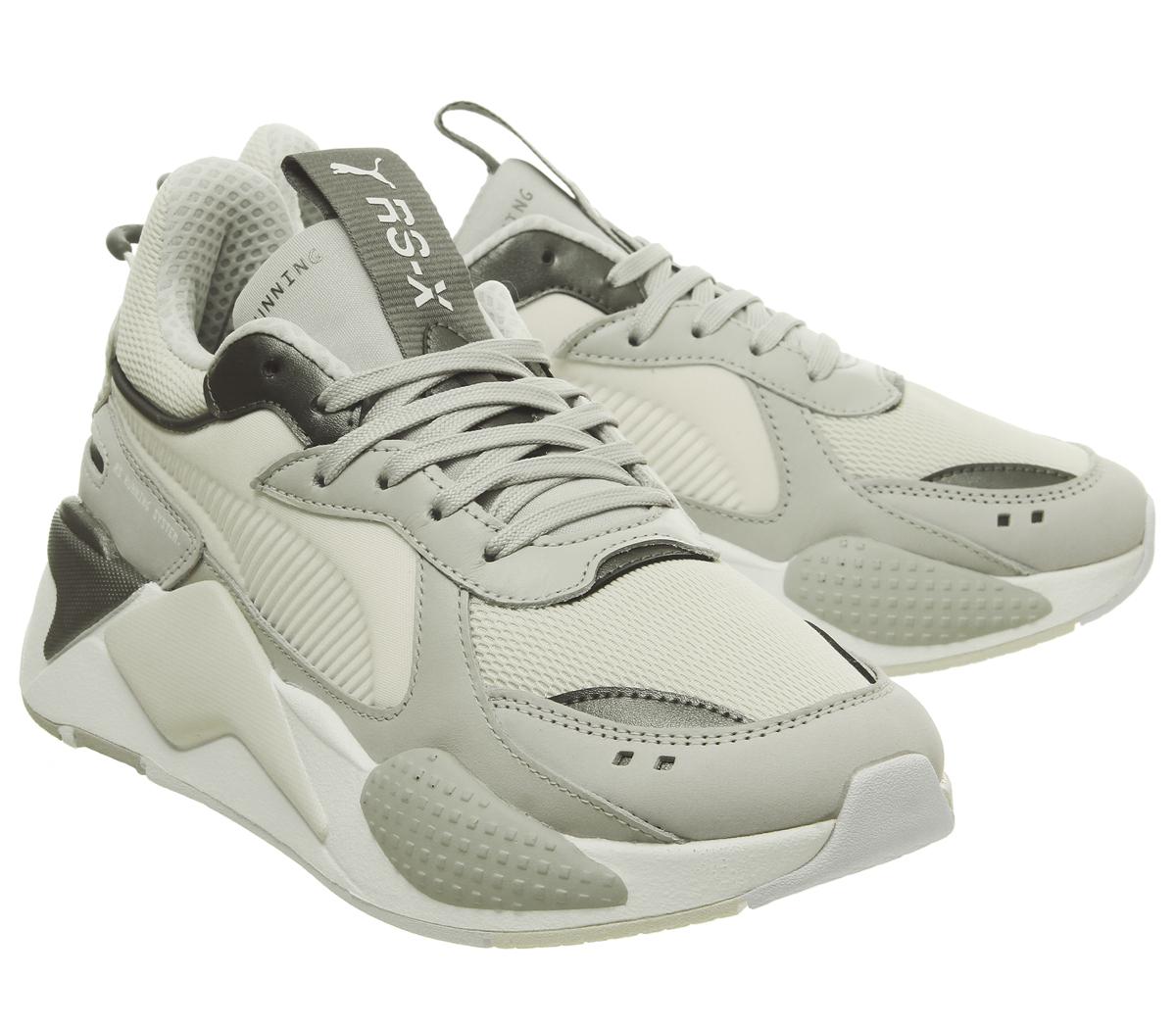 pas cher pour réduction 98378 83bad Détails sur Chaussures Femme Puma RS-X Trophée Baskets Gris Violet vaporeux  Gris Baskets Chaussures- afficher le titre d'origine