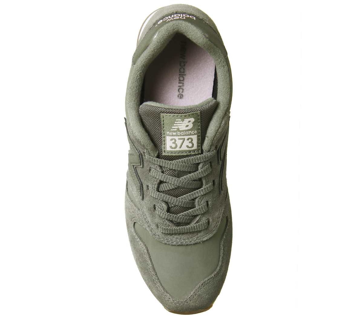 Details about Womens New Balance 373 Trainers Light Khaki Trainers Shoes