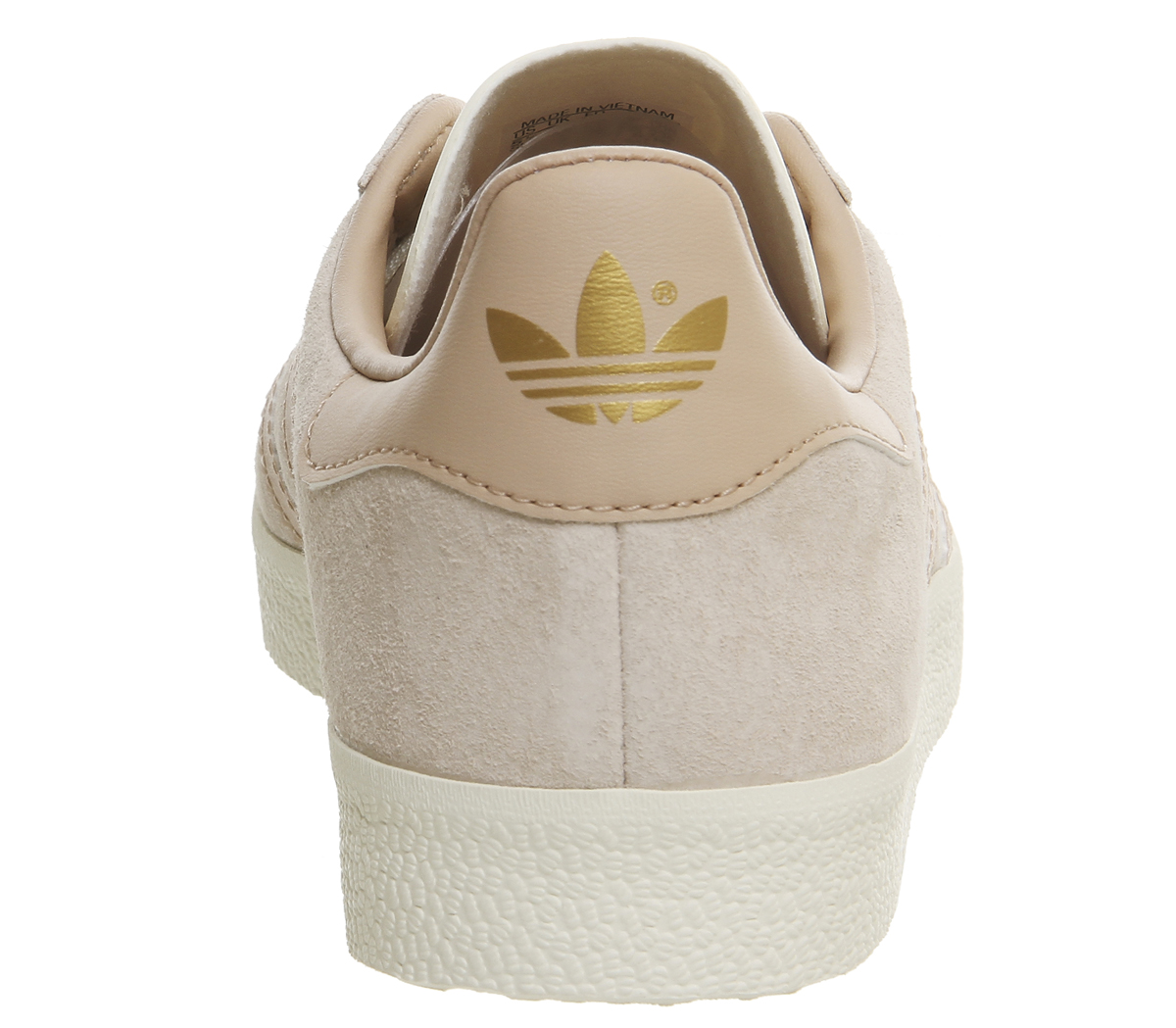 adidas gazelle trainers beige