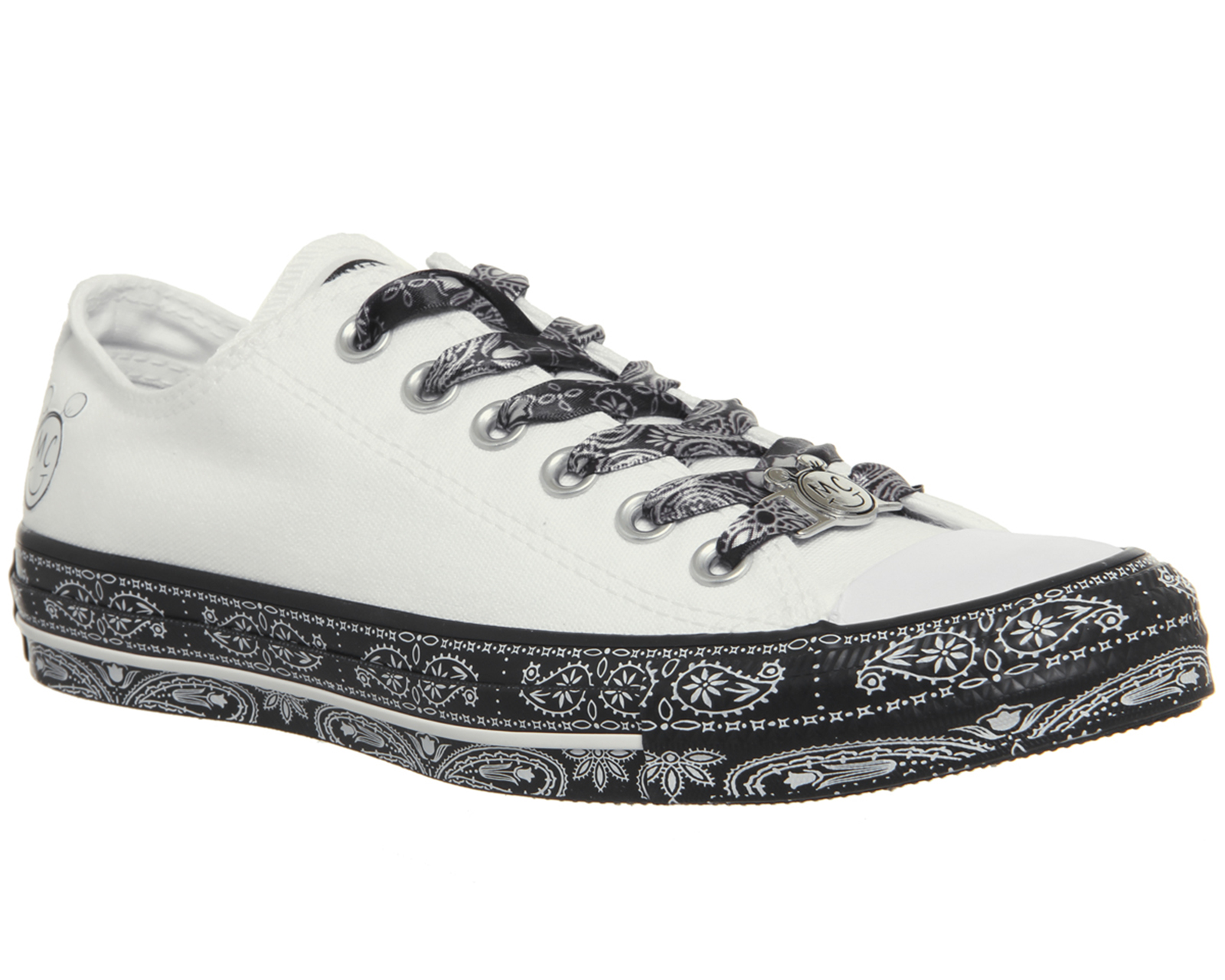 Sentinel Womens Converse Ctas Classic Ox Trainers WHITE BLACK WHITE Trainers  Shoes 08c7e950d7