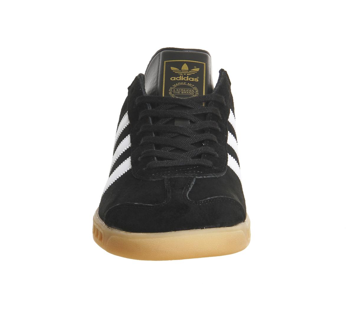 Adidas Hamburg Hamburg Adidas Noir eb GUM Trainers Shoes eb Noir e52424