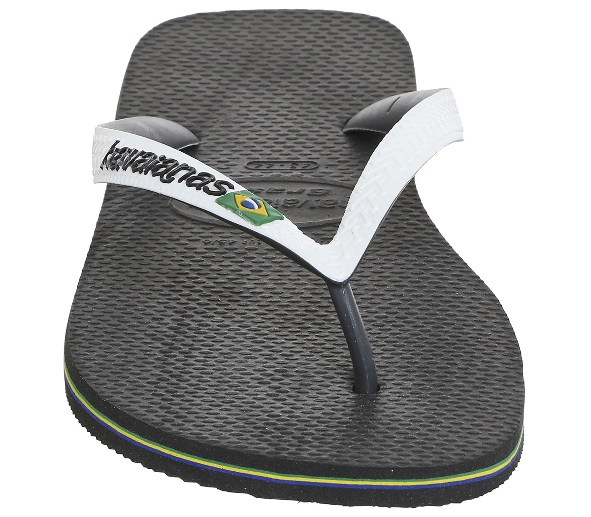 5191a6be9 Mens-Havaianas-Brasil-Mix-Black-White-Sandals thumbnail 16