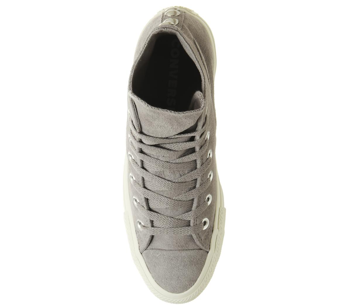 SENTINEL Womens Converse Converse All Star Hi formatori mercurio stallone  bianco grigio esclusivo d461cc117ea