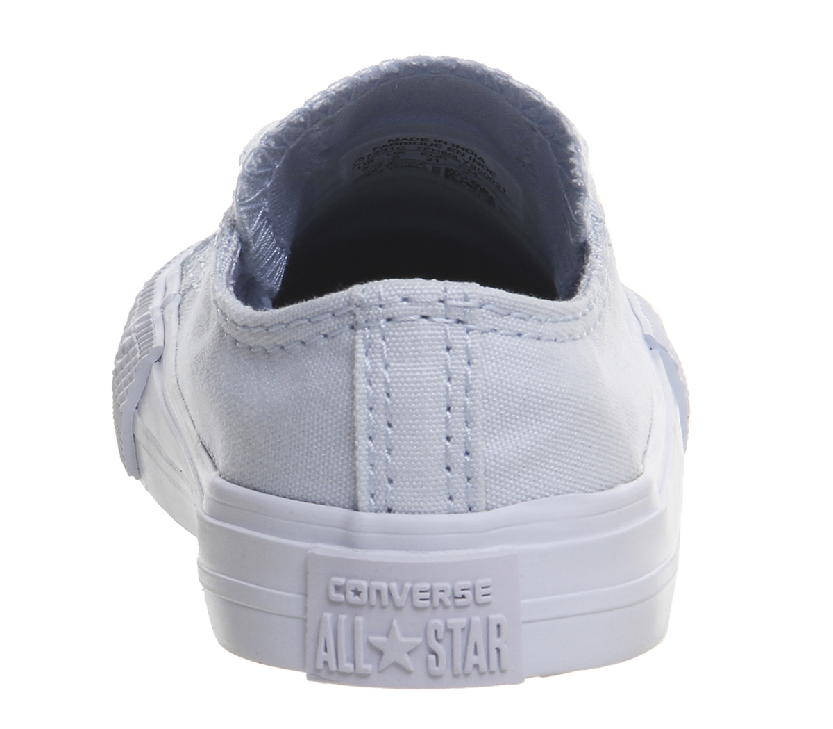 5cce22fd504b Sentinel Kids Converse All star Low Infant Trainers PORPOISE BLUE MONO Kids