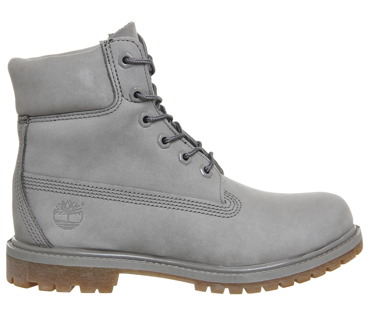 SENTINEL Stivali donna Timberland Premium 6 stivali STEEPLE grigio MONO 783b353dd86