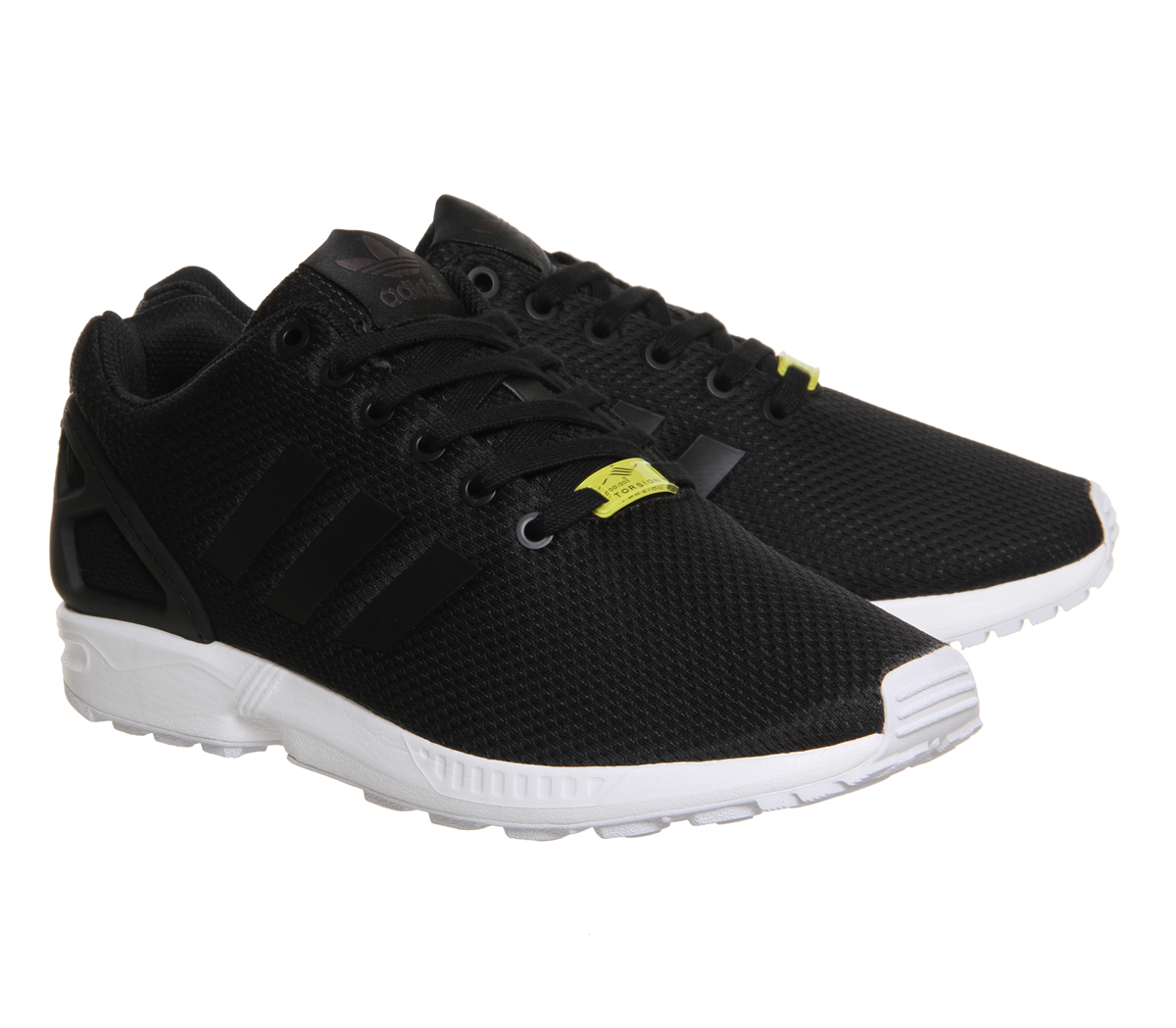 46abf32fee18 Mens-Adidas-Zx-Flux-BLACK-WHITE-Trainers-Shoes thumbnail