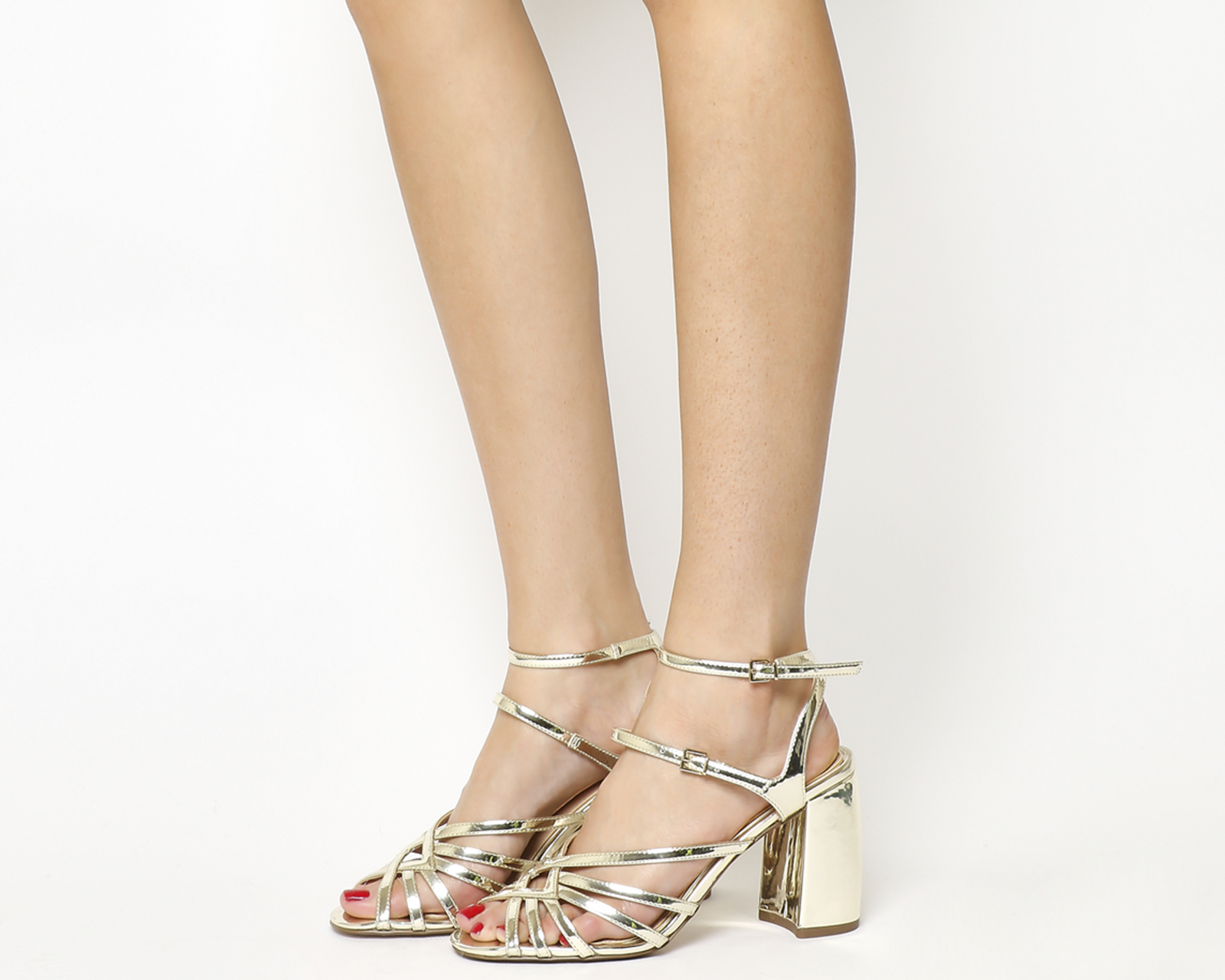 8b2a500e1e9b Sentinel Womens Office Hey Now Strappy Sandals Gold Heels