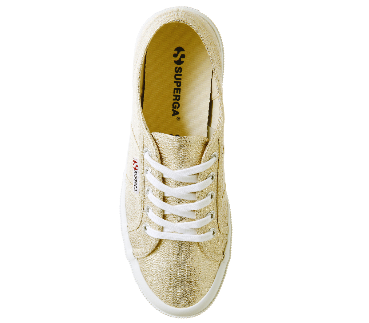 Damenschuhe Superga 2750 Trainers YELLOW GOLD Trainers Schuhes