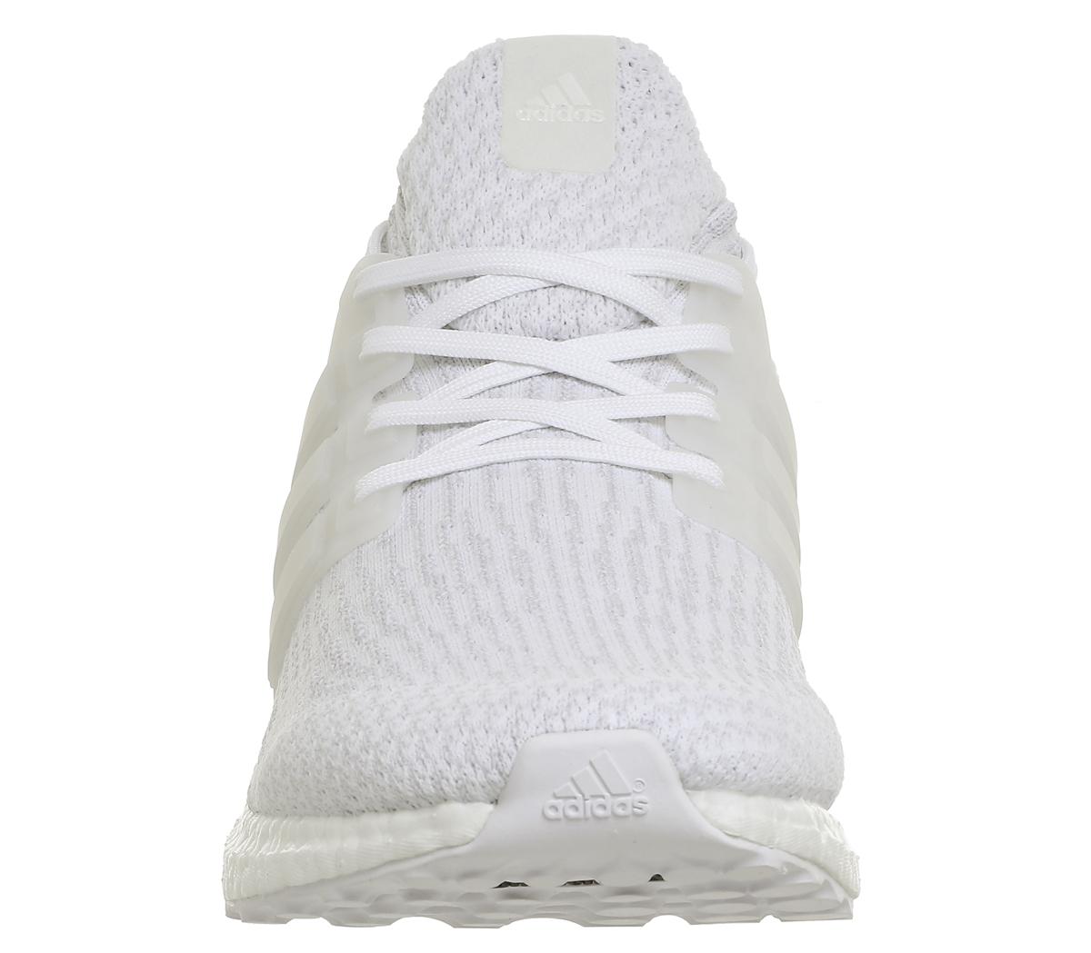 bb8725b579027 SENTINEL Scarpe da uomo Adidas Ultra Boost formatori MONO bianco bianco