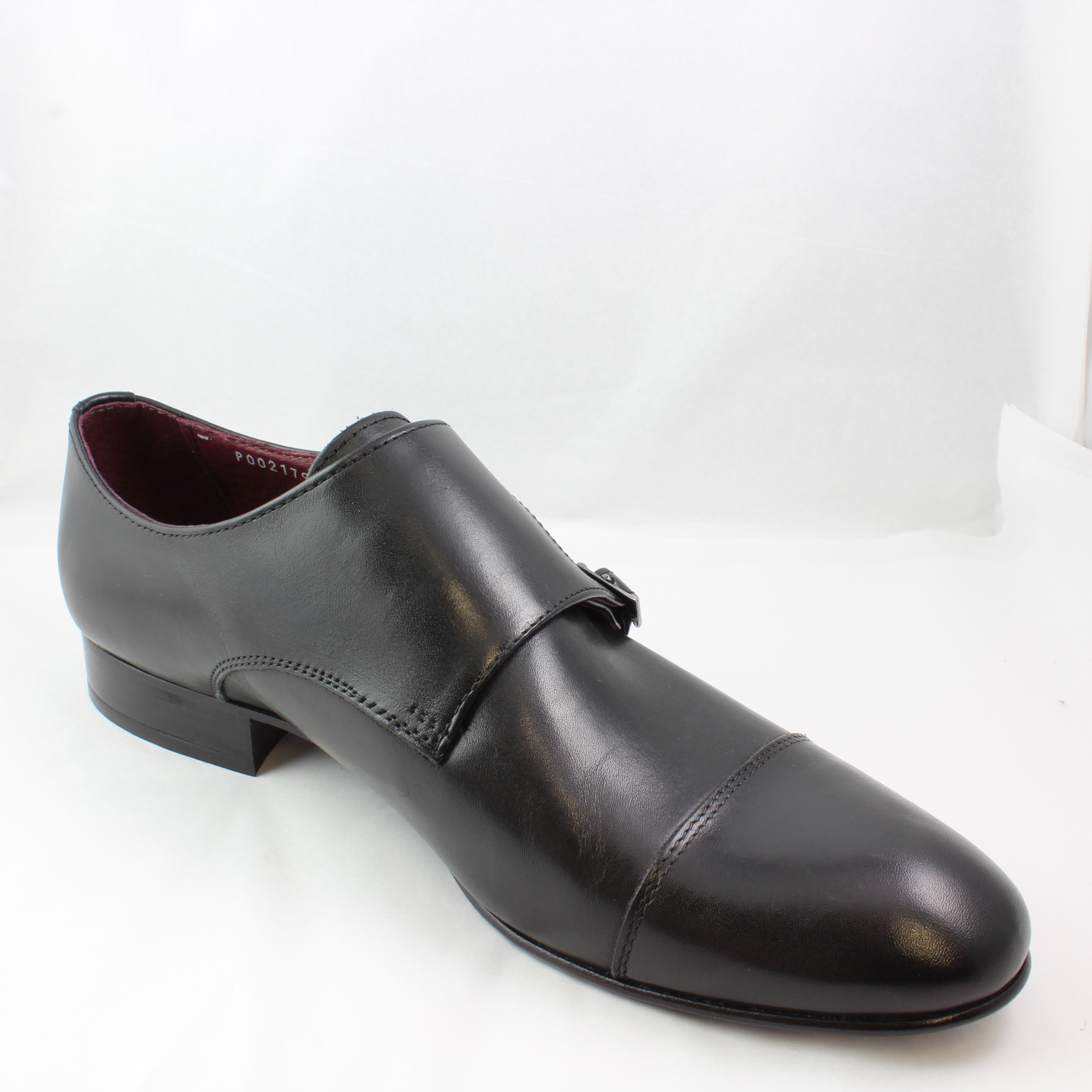 Poste Brown Leather Formal Shoes