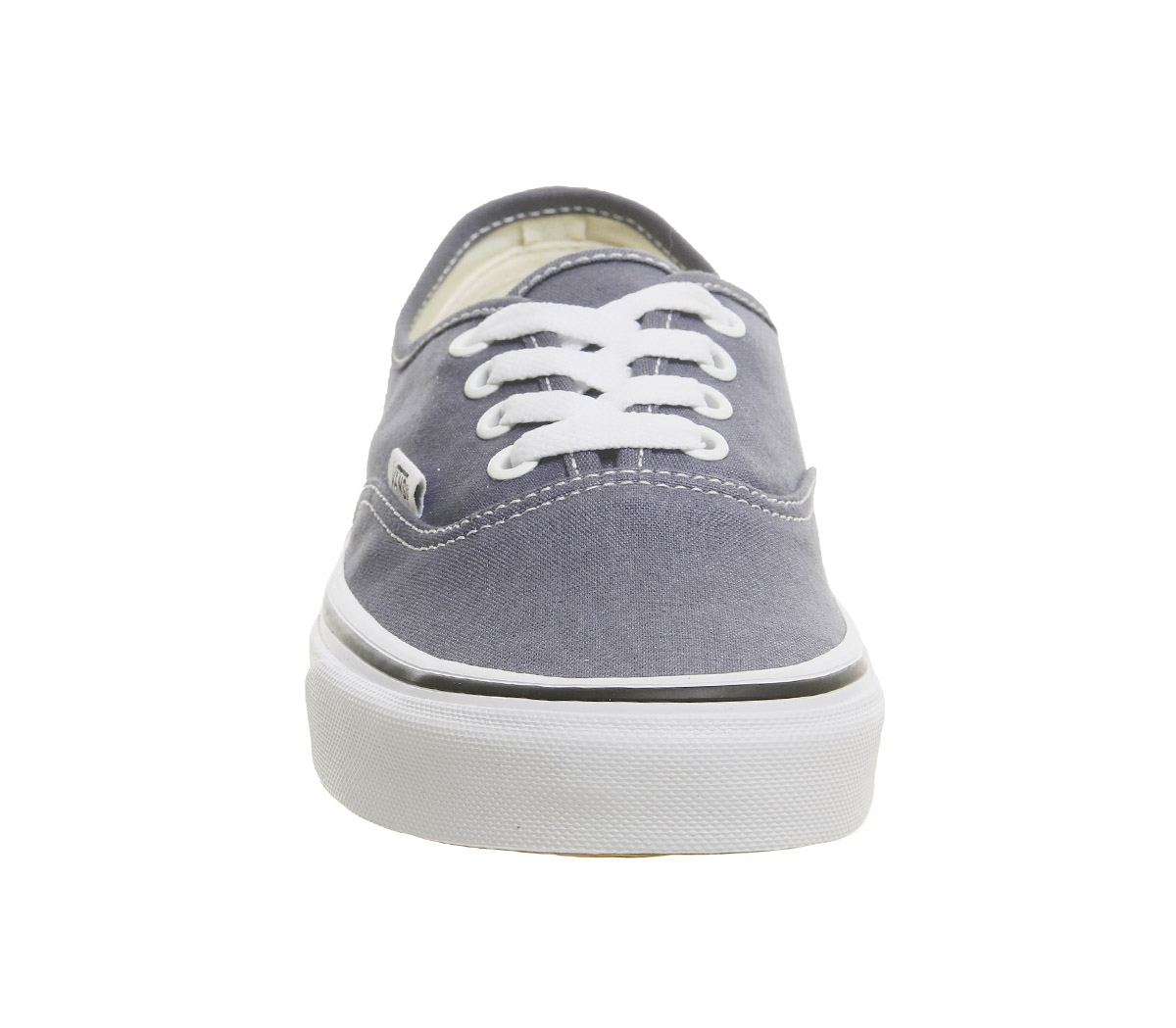 a4e1751fbfe5 Sentinel Mens Vans Authentic Trainers Grisaille True White Trainers Shoes