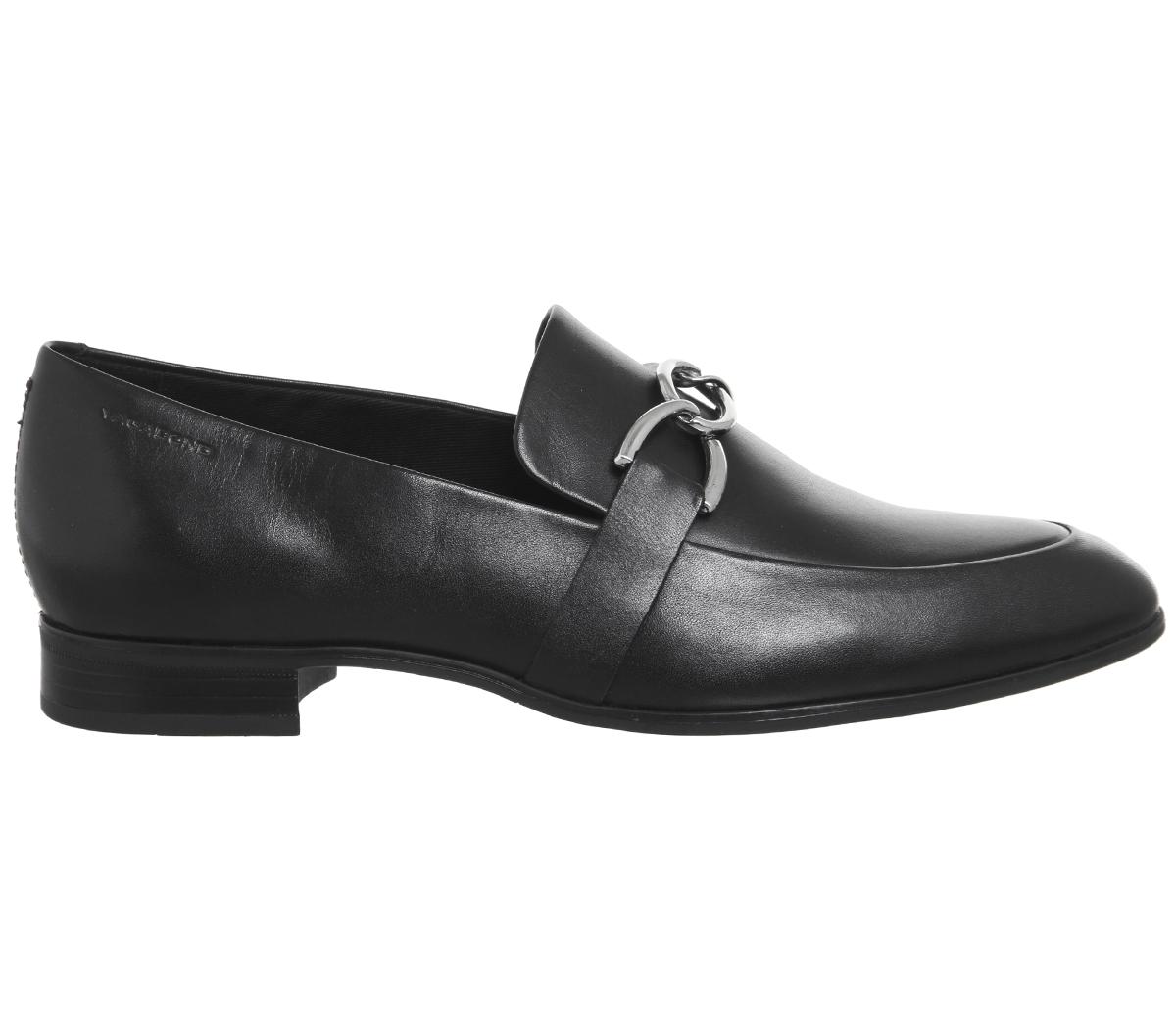 Damenschuhe Vagabond Vagabond Damenschuhe Frances Detail Loafers BLACK LEATHER Flats 26bada