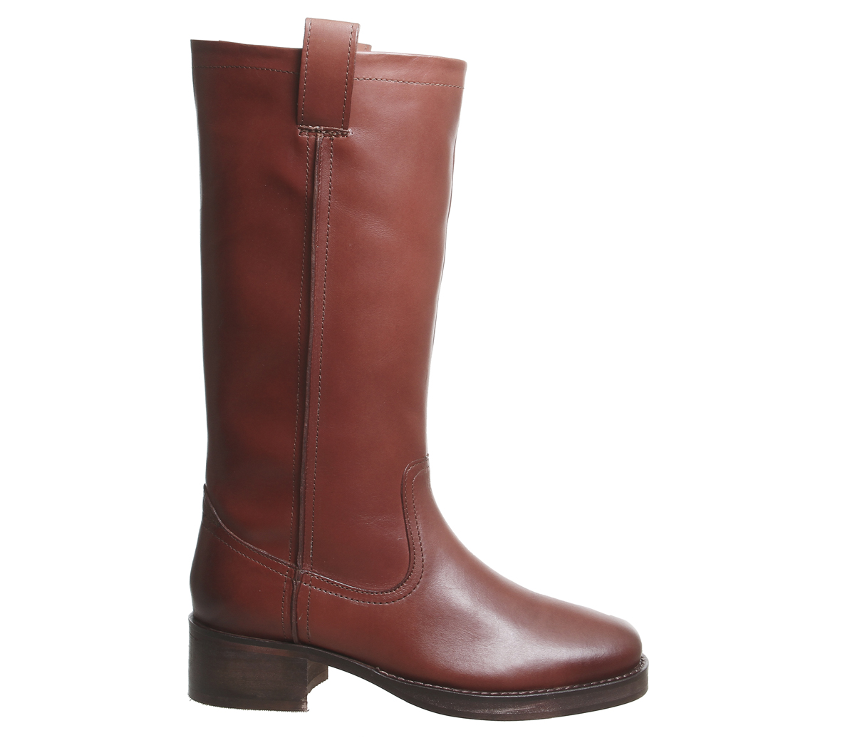 Office Conker Kaiser On Womens Leather Stivaletti Pull gdwAxSq