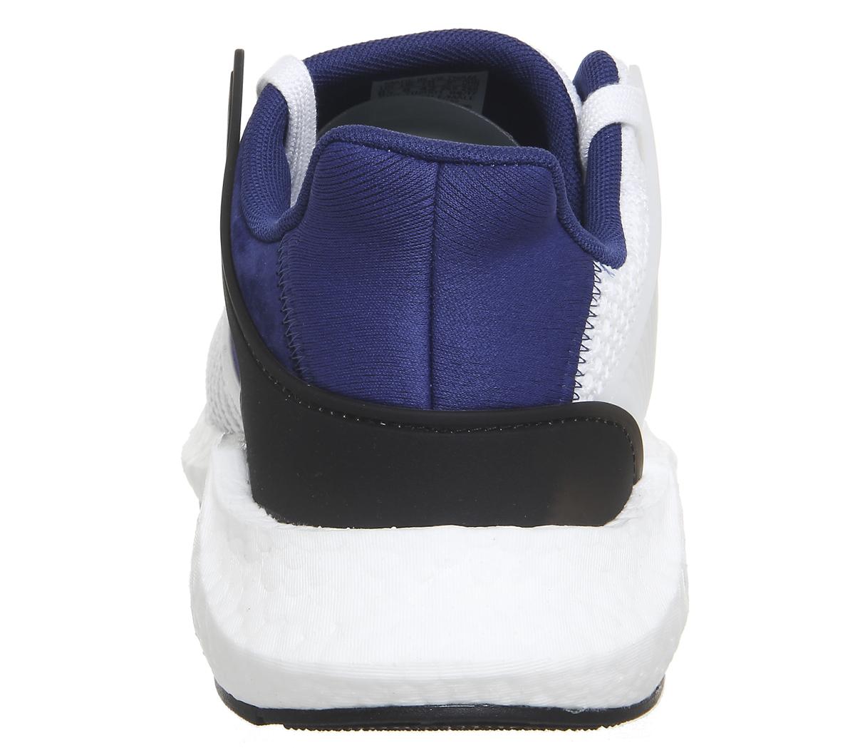 Adidas eqt SOSTEGNO 93/17 BIANCO CORE NERO BIANCHE Sportive Scarpe