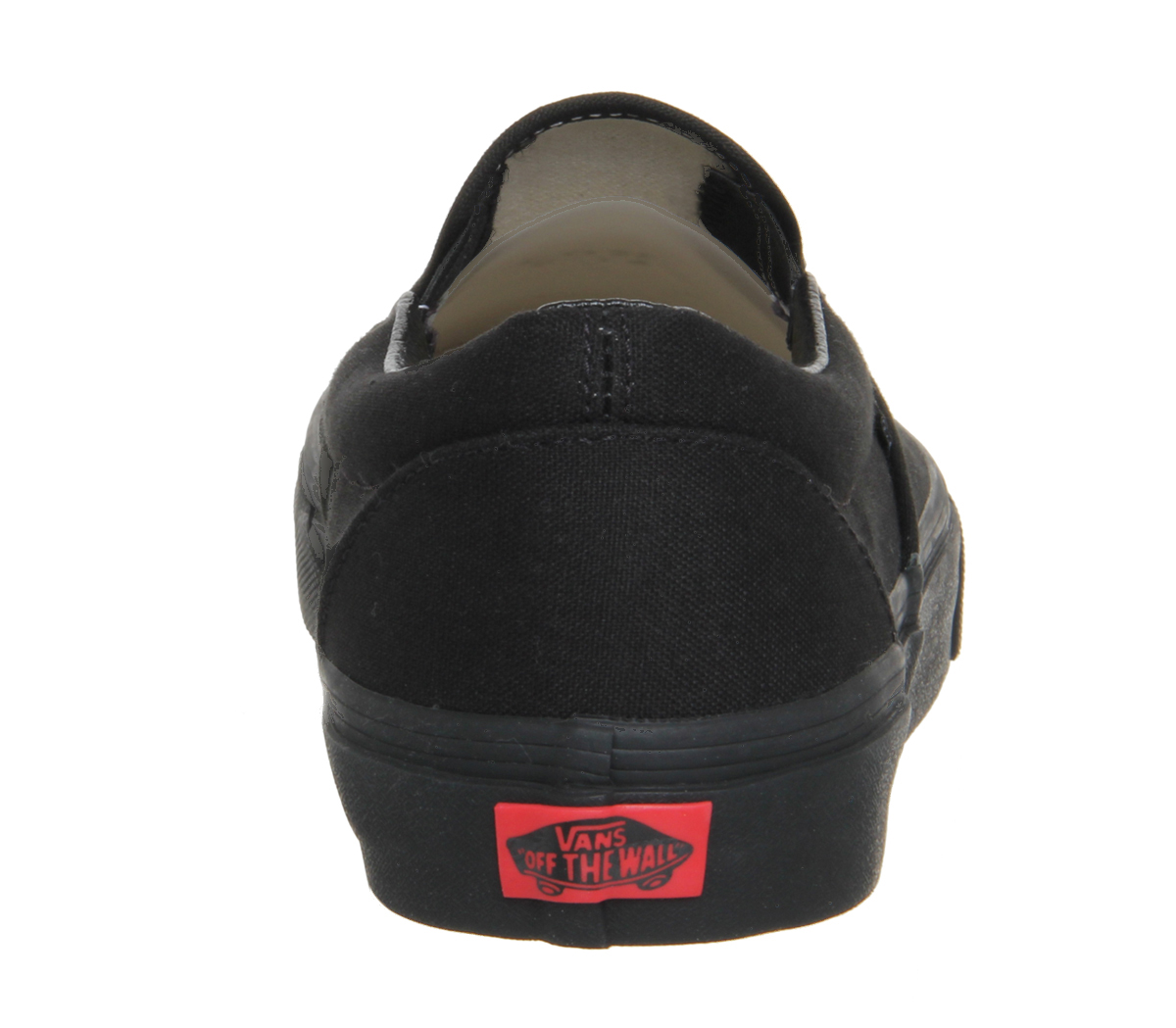 Herren Vans Classic Slip On Trainers BLACK MONO MONO BLACK Trainers Schuhes 8feee3