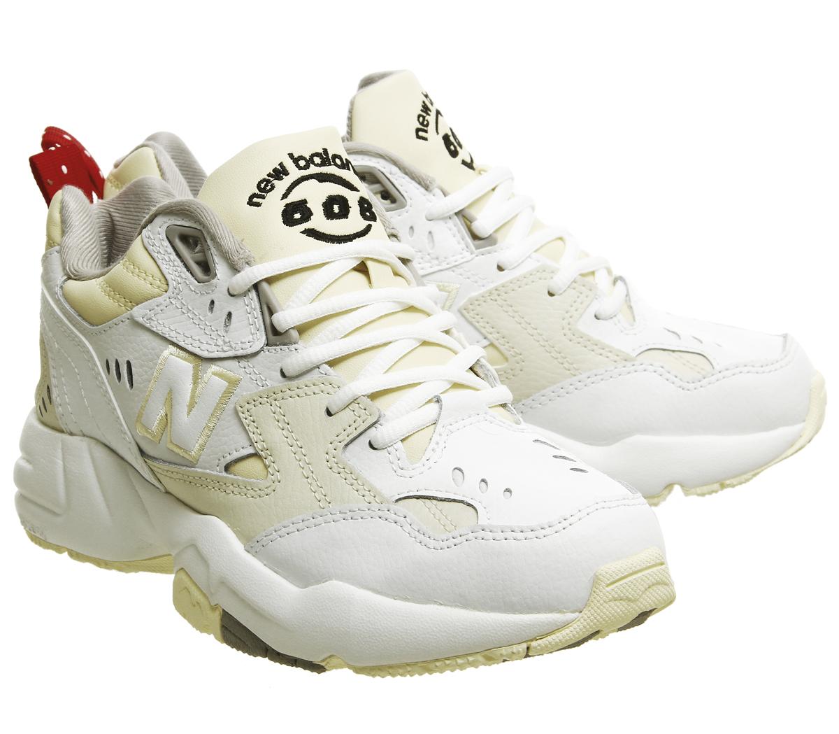 0f61b2c38ace3 Womens New Balance 608 Trainers White Cream Trainers Shoes | eBay