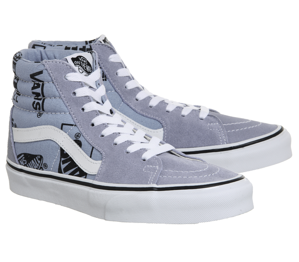SENTINEL VANS Sk8 Ciao formatori LUSTRE lavanda LOGO scarpe da ginnastica  scarpe nero e25275d8c3d
