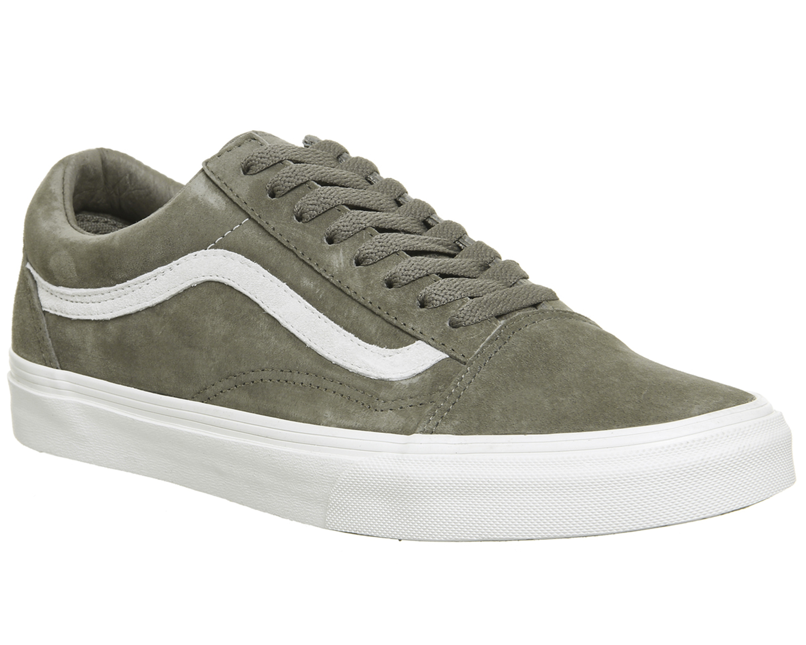 4446365ba28 Sentinel Mens Vans Old Skool Trainers FALLEN ROCK BLANC Trainers Shoes