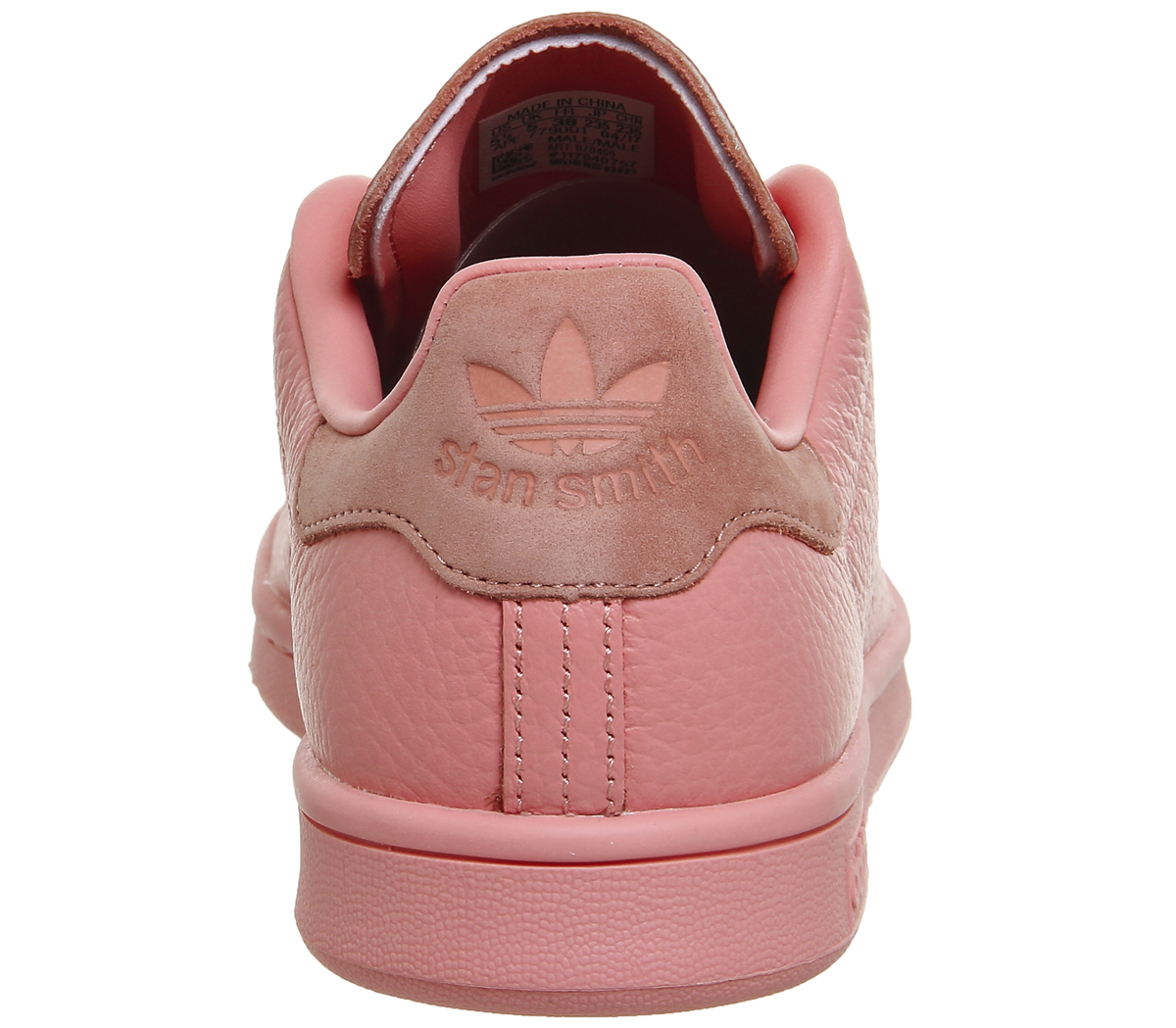 8bbe86425b1b Sentinel Womens Adidas Stan Smith TACTILE ROSE RAW PINK Trainers Shoes