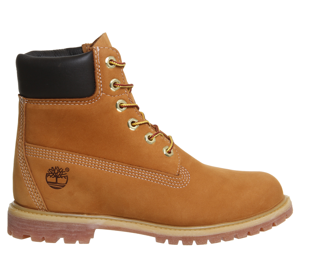 SENTINEL Donna Timberland Premium 6 Stivali FRUMENTO Boots NUBUCK d5557817fa7
