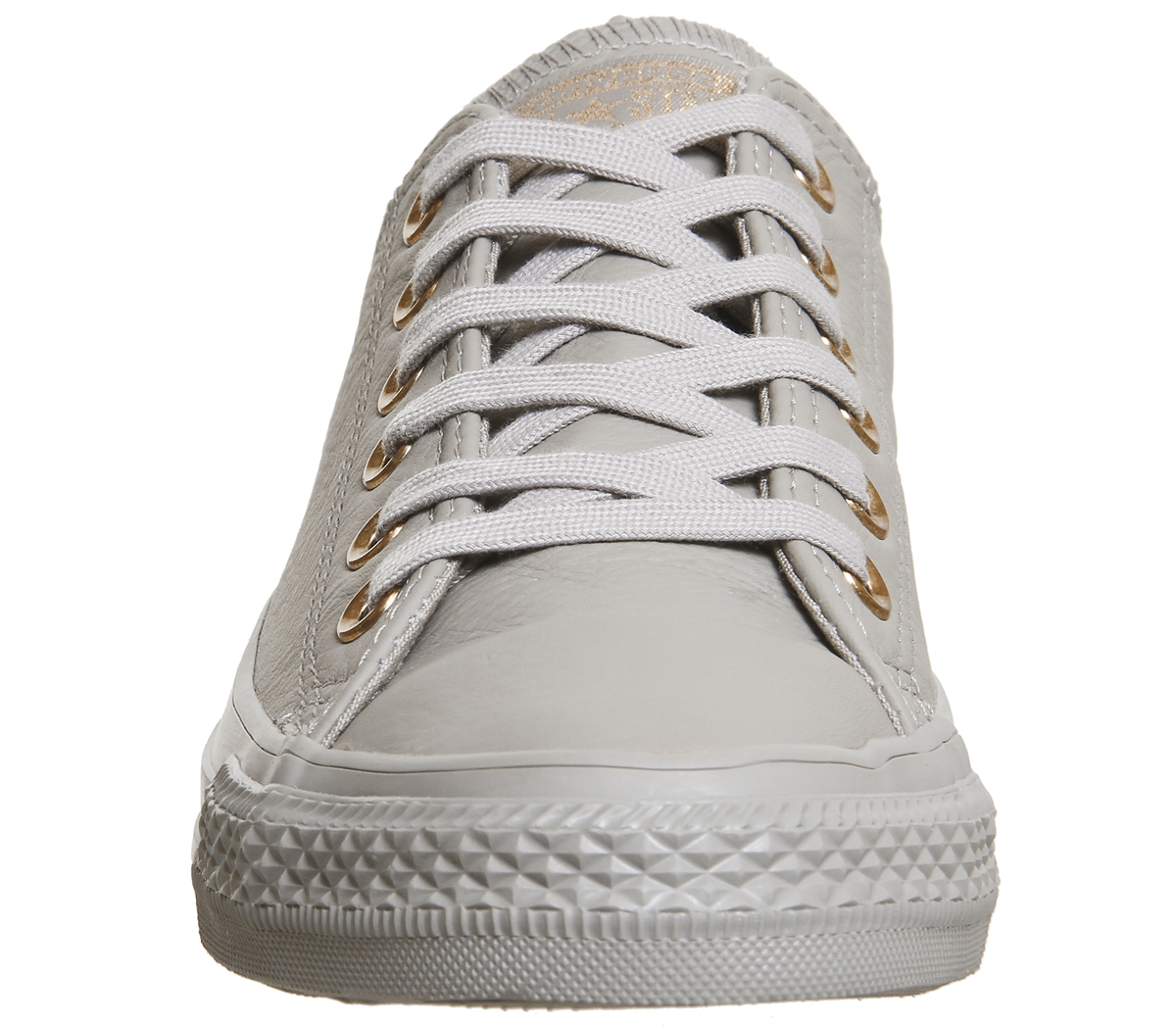 grey converse with rose gold