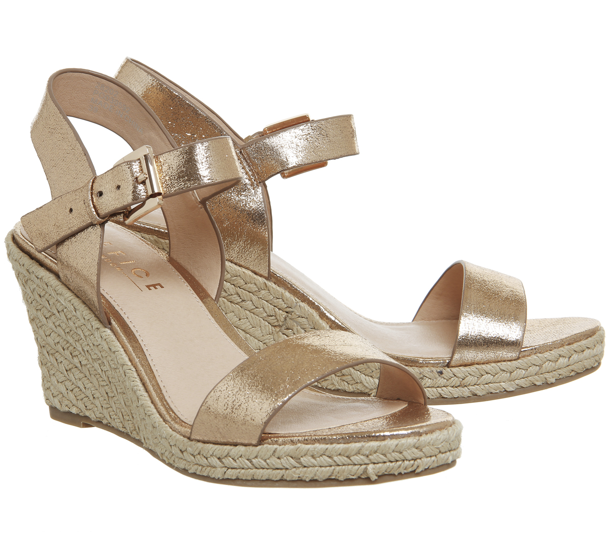 Largest Supplier Cheap Online Office Office Marbs Two Part Espadrille ROSE METALLIC Latest Collections Sale Online Sale 2018 Discount High Quality Buy Cheap With Paypal jphZD