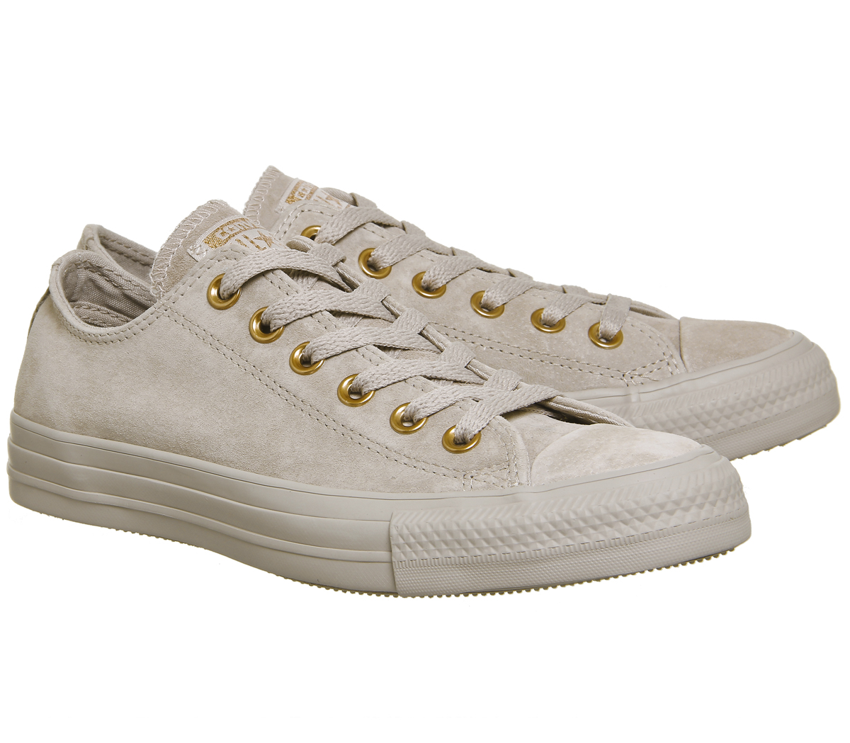 Damenschuhe Converse All Star Niedrig  Leder MUSHROOM BLUSH GOLD  Niedrig Trainers Schuhes 7fbf22